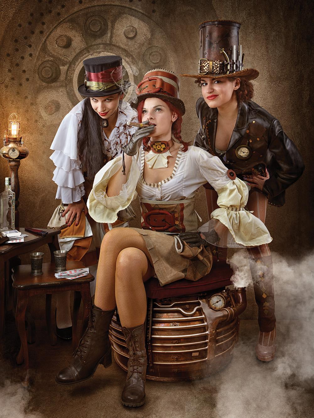 Steampunk Bandit Queen I