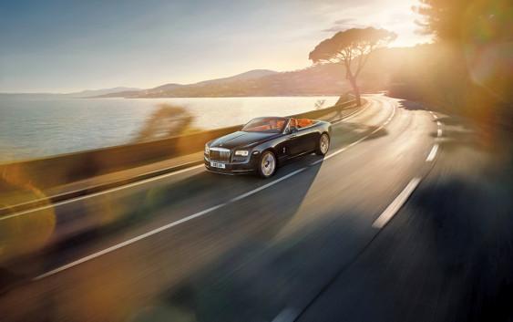 Luksuzni Rolls-Royce Cabrio