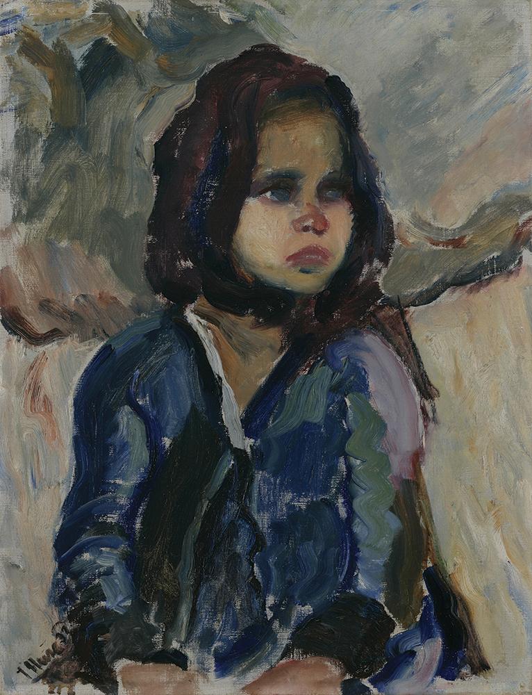 1. Djevojcica, 1932, Moderna galerija, foto Goran Vranic
