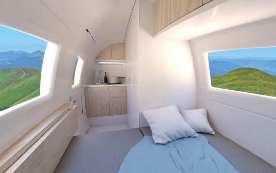 Ecocapsule: mala pokretna kuća