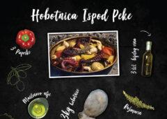 Infografika i hobotnica ispod peke